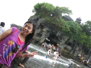 Aurelia di Tanah Lot, Bali