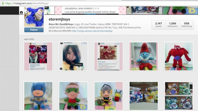 Capture Instagram MJ Toys 2015.04.29